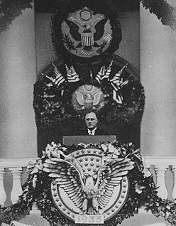 FDR's first inaugual