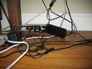 Cable clutter, your days are numbered!