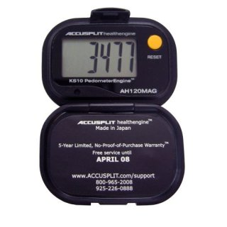 Accusplit pedometer (photo courtesy of Amazon)